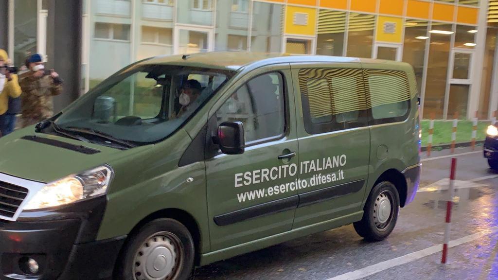 Arrivo vaccini in Calabria