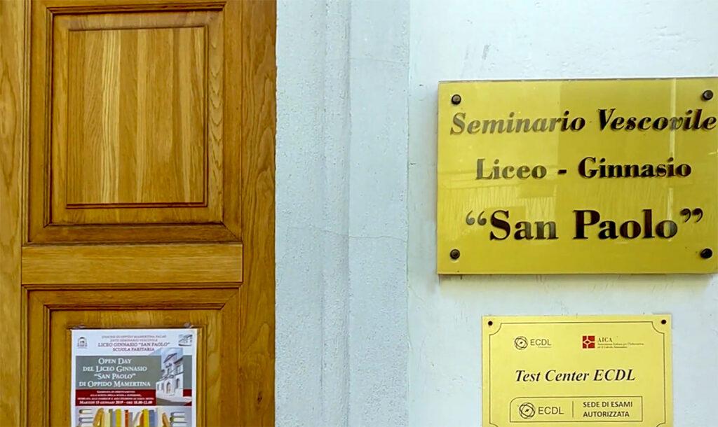 "Liceo Ginnasio ""San Paolo"" - Oppido Mamertina"
