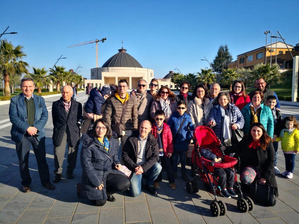 Gruppo di pellegrini di Taurianova