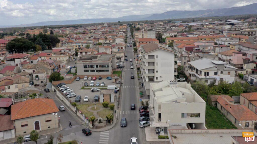 Vista di via Francesco Sofia Alessio - Taurianova