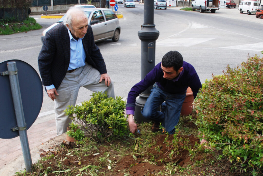Natale Zerbi, giardiniere in paradiso