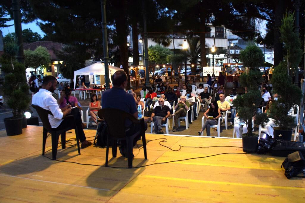 Restart Festival - Incontro con Mimmo Lucano - 11 agosto 2021 (Foto Stella Scionti)