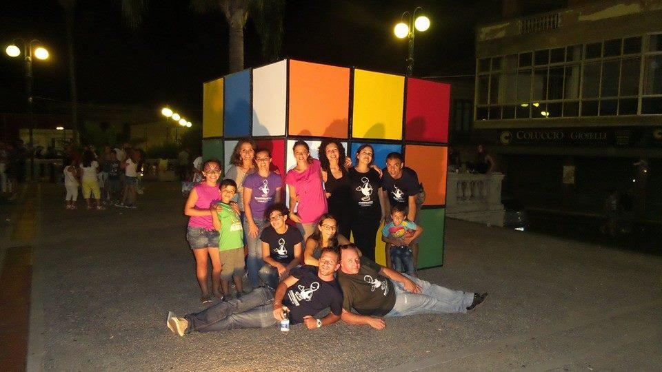 Invasioni Urbane edizione 2014 - Installazione cubo di Rubik