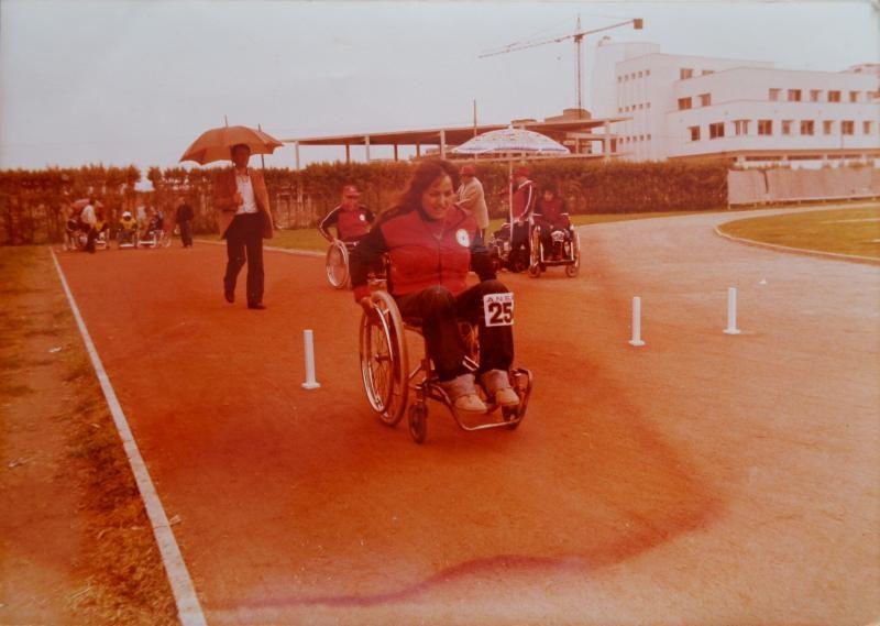 Rosa Sicari, la prima atleta taurianovese alle Paralimpiadi